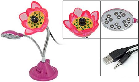 flower-12-leds-webcam-pictures