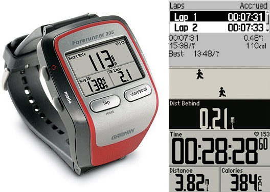 Garmin Forerunner 305 GPS Receiver With Heart Rate Monitor pictures Best GPS Heart Monitor Watch