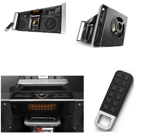 Altec Lansing inMotion digital boom box-pictures