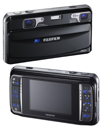 Fuji FinePix W1 Dual 10MP 3D camera-pictures-1