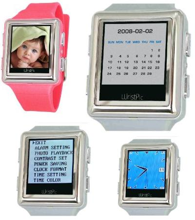 Nutec Wristpic Digital Photo Album Watch-pictures