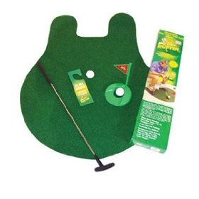 Tee Time Toilet Potty Puter-pictures