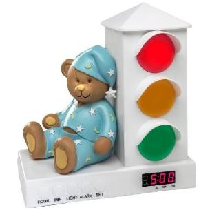 Stoplight Alarm Clock - help you baby to be self discipline