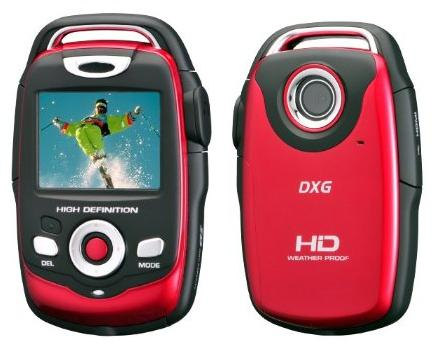 DXG-125VR HD All-Weather Camcorder-pictures
