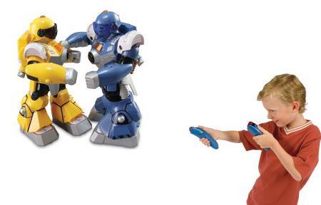 Motion Mimicking Robotic Pugilists-pictures