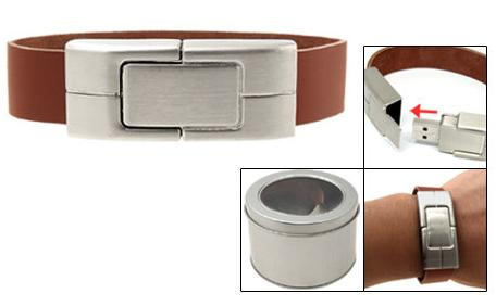 Leather Bracelet USB Flash Memory Drive-pictures